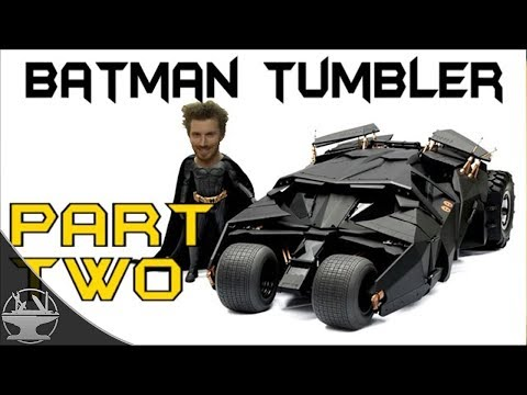 Electric Batman Tumbler Part 2 - First Test Drive