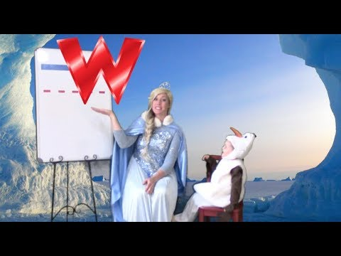 Today is a W-W-Water Day!!! Come Learn the Letter W/w with Elsa & Olaf