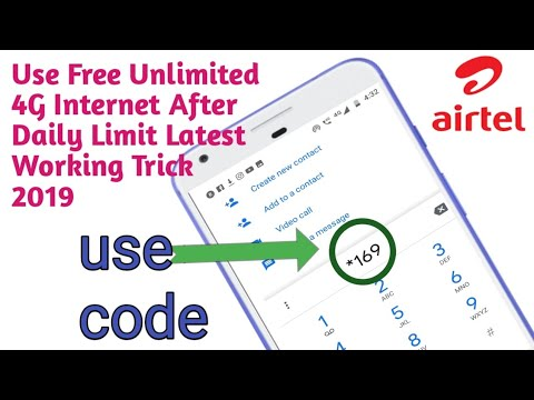 Free Internet In Airtel 4g Sim 2019,how To Get Airtel Free Internet,airtel Free Internet Trick