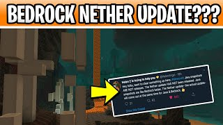 Minecraft Bedrock Nether Update Beta??? 1.16 Java Snapshot & Parity Problems!