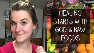 RAW VEGAN:  how long it took me to heal my body on a low fat raw vegan diet