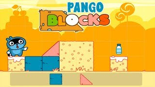 Pango Blocks Game Review #2 - Great puzzles for kids.