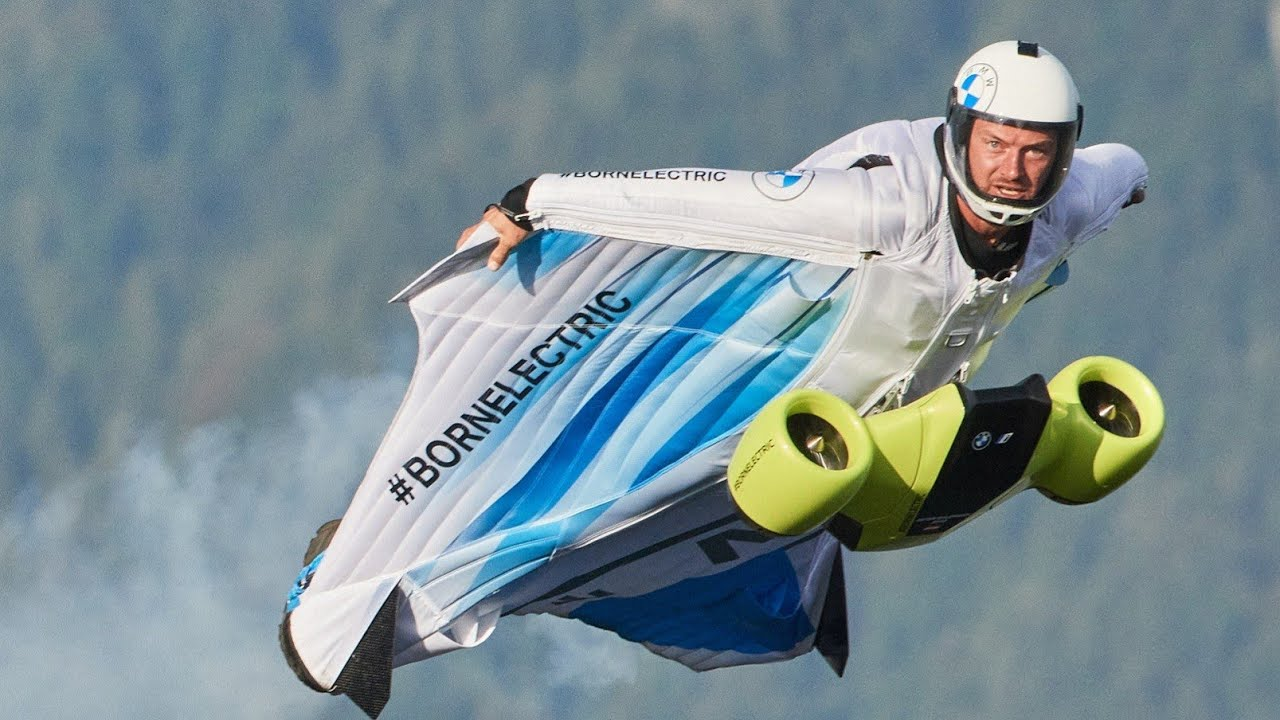 Meet BMW Electric Wingsuit - the future of individual flying is now