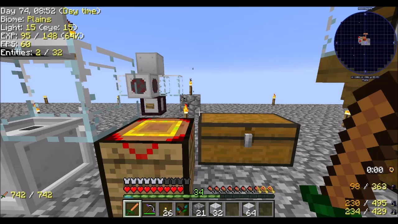 Modern Skyblock 3 Ep18 End Stone Condensing