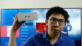 Apple TV 4K Box Unboxing and Initial Setup