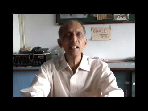 Former Principal of Saraswati Secondary School Tilak Sir