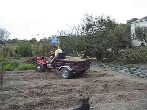 картофелекопалка на Мотоблоке МТЗ Беларус-09Н - YouTube