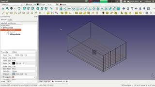 إنشاء L-شكل حديد التسليح باستخدام حديد التسليح إضافة على FreeCAD