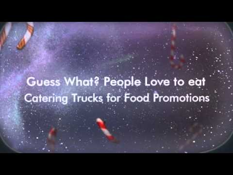 Catering Truck Mobile Billboard for marketing activations