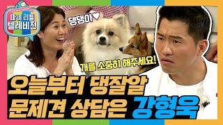[마리텔1] 시켜줘. 댕댕이 명예소방관. 🌊 세상에 문제 있는 강아지는 없는 개통령 강형욱 방송