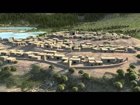 Ain Ghazal    Historical 3D Visualization