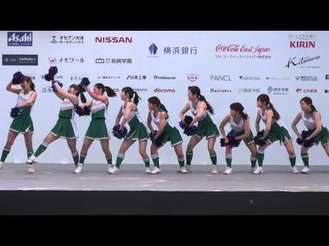 関東学院大 チアダンス部 Fits 横浜セントラルタウンフェスティバル「Y156」2015