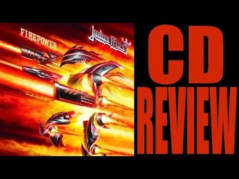 JUDAS PRIEST - FIREPOWER (CD REVIEW) BRITISH METAL!!!