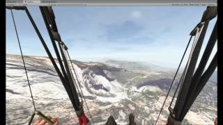 3D Paragliding Paraflysim Development - new Risers model / animations