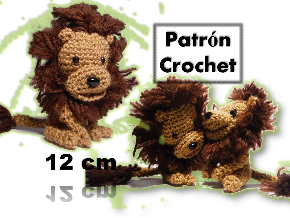 Amigurumi Facil Patron : León amigurumi patrón llavero crochet video tutorial youtube