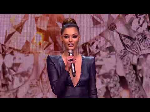 Miss Universe 2017 Demi-Leigh Nel-Peters at Miss SA 2018