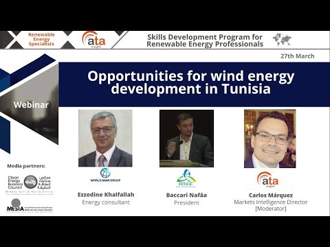 Opportunities for wind energy development in Tunisia