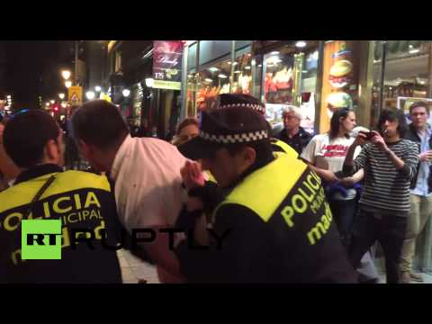 Spain: FC Schalke fans arrested after bloody brawl with police in Madrid