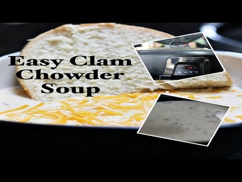Easy Clam Chowder | Slow Cooker Recipe 🍵