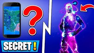 Peau de galaxie Fortnite de SECRET ! Comment UNLOCK! ( Nouvelle mise à jour 5.2 )