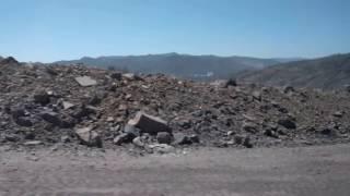 中国雲南省昆明付近 燐鉱石の採石場