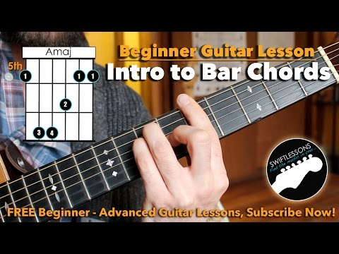 How to REALLY Play Bar Chords - A Beginner Guitar Tutorial