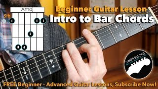 Video How to REALLY Play Bar Chords - A Beginner Guitar Tutorial download MP3, 3GP, MP4, WEBM, AVI, FLV Agustus 2018