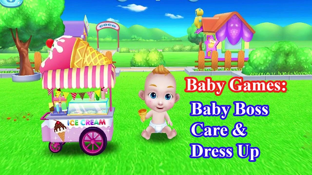 Baby Games Baby Boss Care Amp Dress Up Kids Games Free