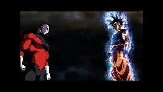 Goku Ultra istinto VS Jiren (scontro completo)