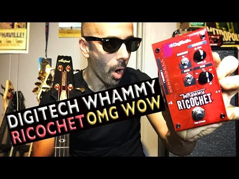 Digitech Whammy Ricochet Unboxing Bass  Demo | Amazing Wow Funbox