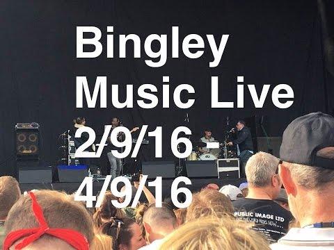 Bingley music live festival at myrtle park 2016