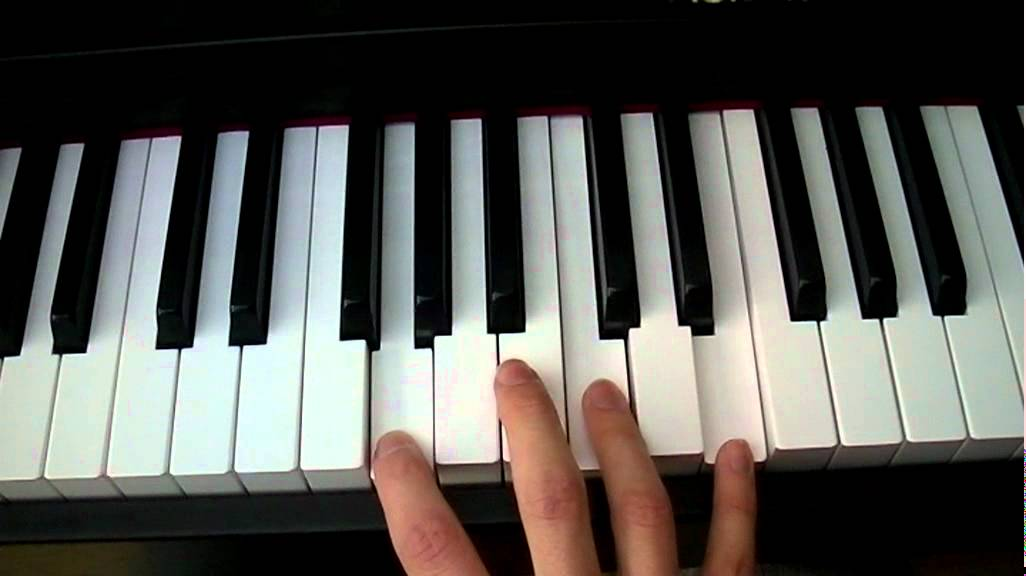 Time After Time Piano and Synth Chords Tutorial - YouTube