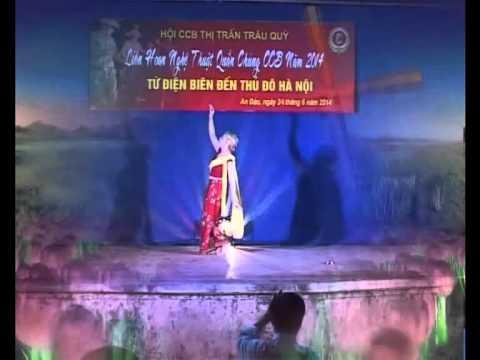 NATASA trong điệu múa HOA CHAM PA