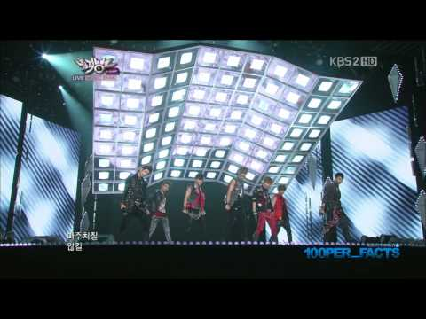 [HD] 120928 100% - Bad Boy (Music Bank)