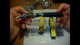 Видео обзор аккумулятора для электронной сигареты EGO 1300