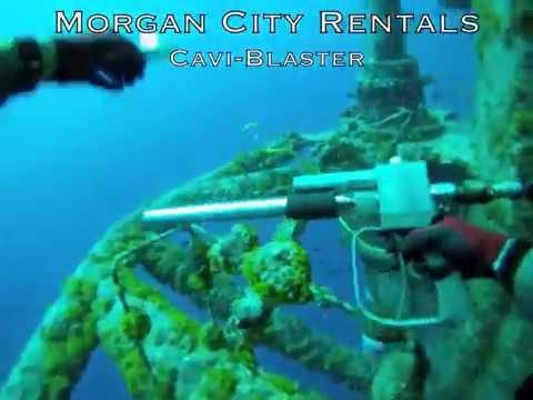 Morgan City Rentals Offshore Cavi-Blaster in Action