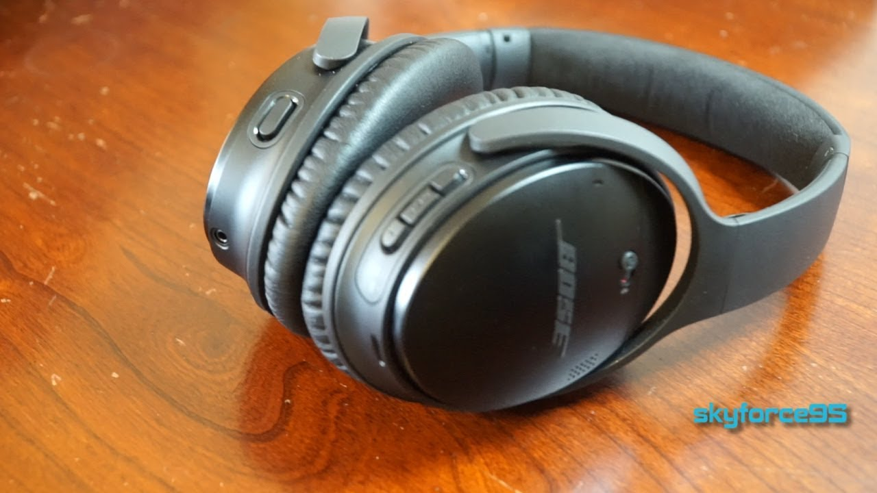 90570c69577 Bose QC35 Series II Noise Canceling Headphones Review - YouTube
