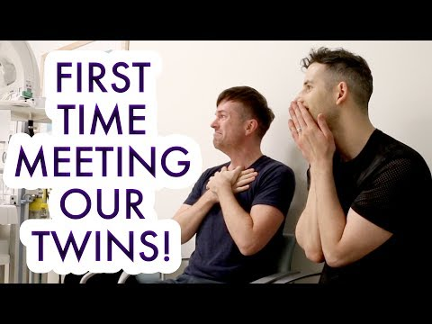 EMOTIONAL BIRTH VLOG OF OUR TWINS! - Gay Dads & Twin IVF Surrogacy Journey /// McHusbands