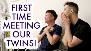 EMOTIONAL BIRTH VLOG OF OUR TWINS! - Gay Dads & Twin IVF Surrogacy Journey
