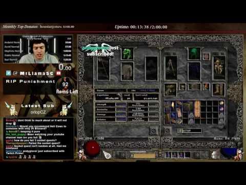 Diablo 2 - The Monarch/Eth Armor hunt :(