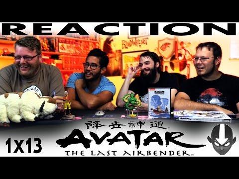 "Avatar: The Last Airbender 1x13 REACTION!! ""The Blue Spirit"""