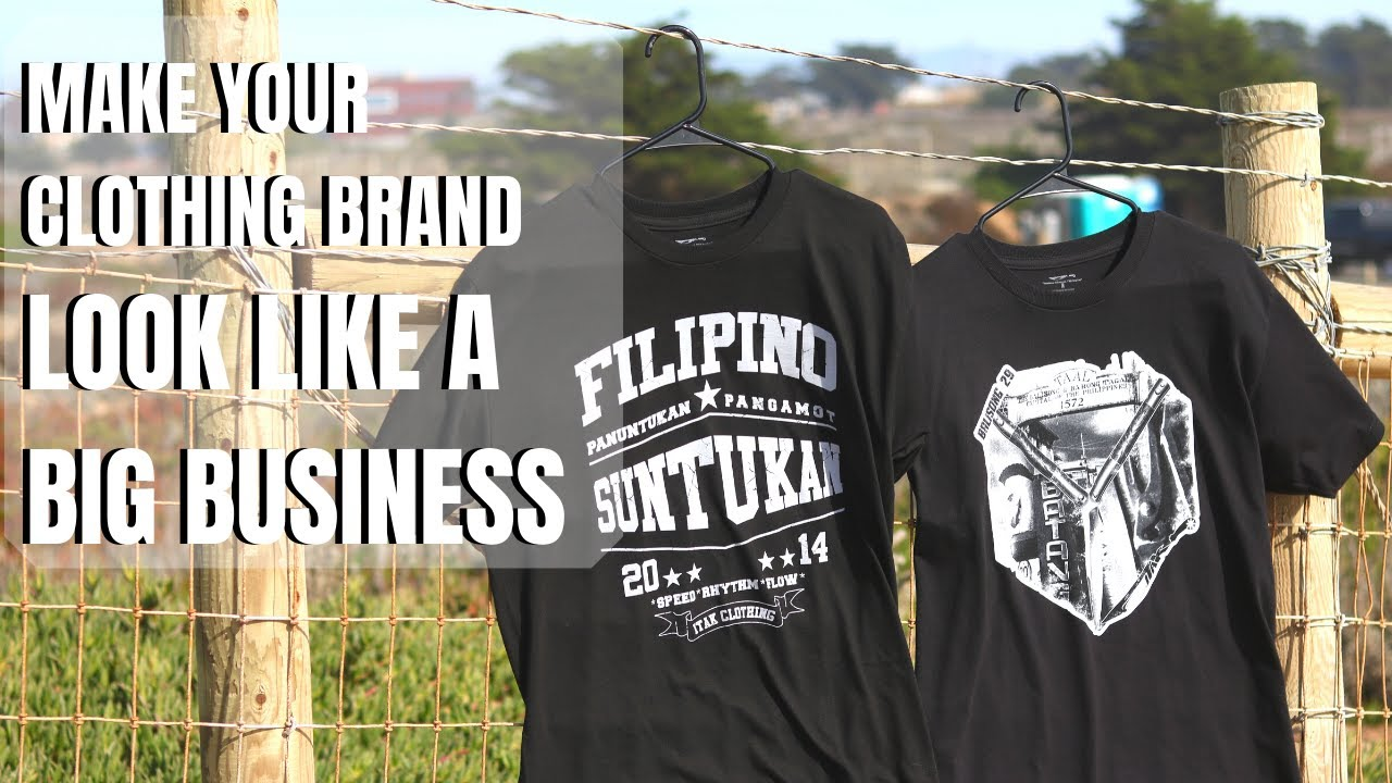 Make Your Clothing Brand Look Like Big Business | Easy Tips To Look Professional