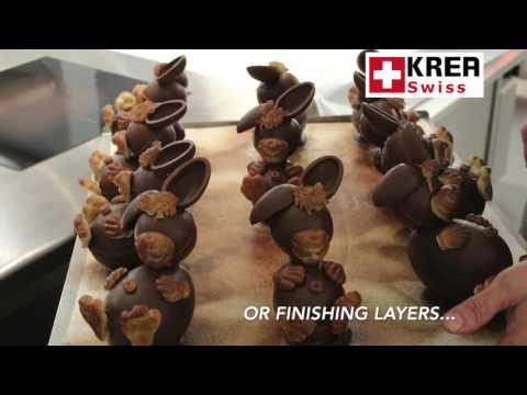 Presenting KREA Swiss Chocolatier Equipment