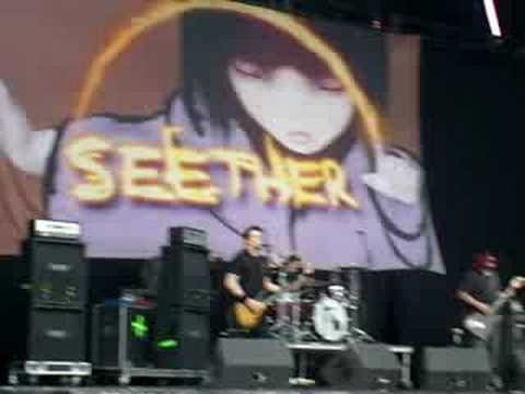 seether - in bloom (nirvana cover) - download festival 2008