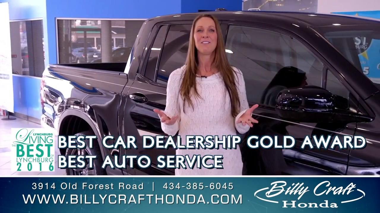 Billy Craft Honda >> 2017 Award Winning Dealership Billy Craft Honda Lynchburg Va