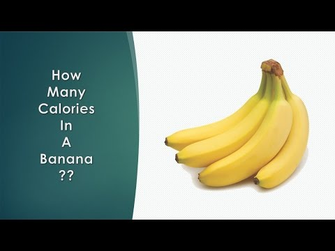 Healthwise: Diet Calories, How Many Calories in a Banana? Calories Intake and Healthy Weight Loss