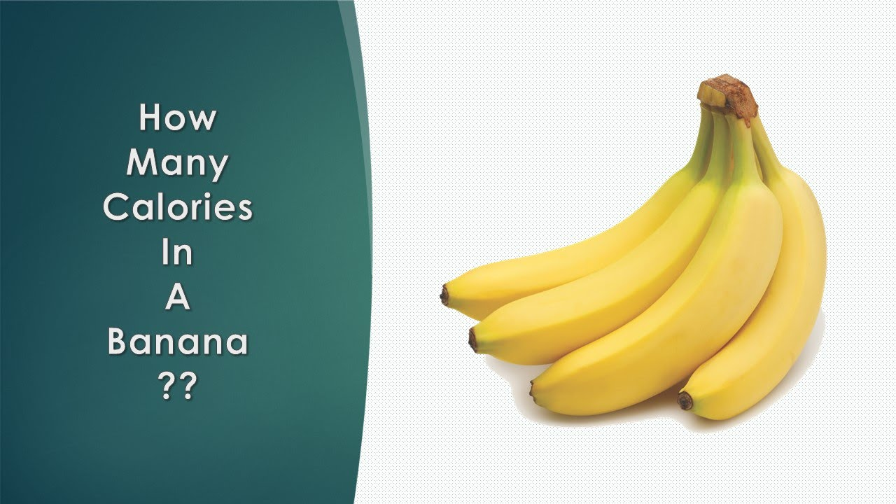 how many calories in an banana