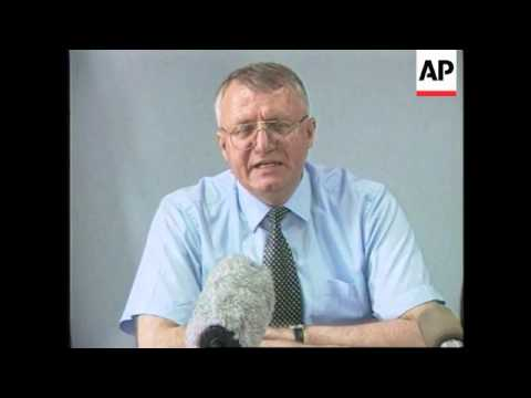 YUGOSLAVIA: BELGRADE: GOVERNMENT/COALITION PRESS BRIEFING