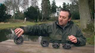 Howard Croston introduces the Greys GX900 Reel