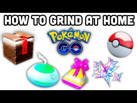 How to Grind at Home in Pokemon GO | FREE pokécoins | 1 hour Meltan box & incense